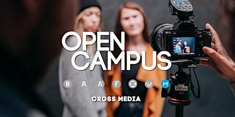 Tag der offenen Tür | SAE Mediencampus Leipzig  - Cross Media Production Tickets