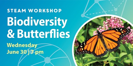 STEAM Workshops: Biodiversity & Butterflies (Bilingual English and French) tickets