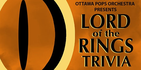 Lord of the Rings Trivia Night tickets