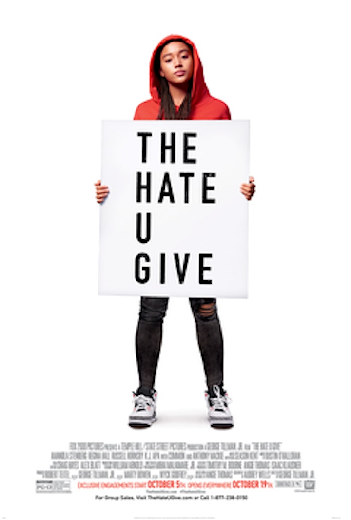 Outdoor Social Justice Film Series - The Hate U Give (2018) image
