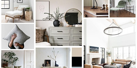 """""""Finding Your Style"""" with Virtual Interior Design Mood Boards tickets"""