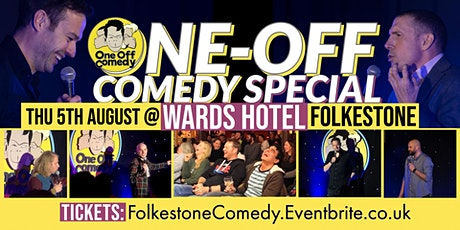 One Off Comedy Special at the Wards Hotel - Folkestone! tickets