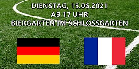 EM Liveübertragung - Deutschland vs. Frankreich Tickets