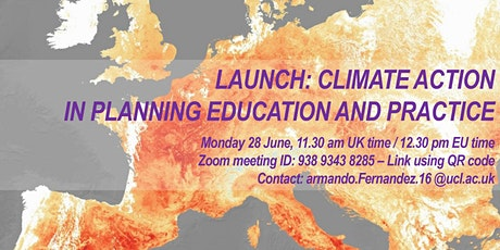 """Launch """"Climate Action in Planning Education and Practice"""" tickets"""