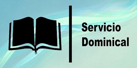 2do. Servicio Dominical - Domingo 20 de Junio entradas