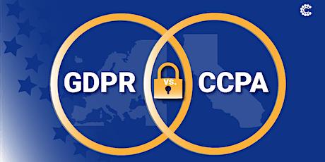 CCPA vs GDPR Compliance Webinar billets
