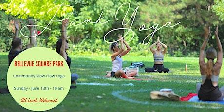 Kensington Market Park Yoga tickets