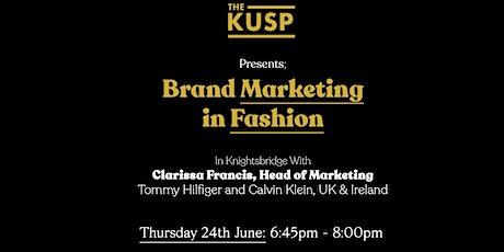 The Kusp Presents Clarissa Francis: Brand Marketin tickets