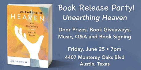 """Book Release Party for """"Unearthing Heaven"""" tickets"""