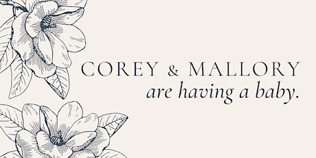 Corey & Mallory Owens Baby Shower tickets