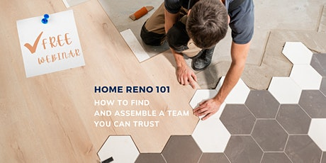 Home Renovation 101: How to Find a Design & Build Team You Can Trust tickets