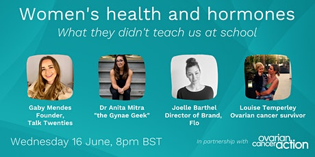 Women's health and hormones: what they didn't teach us at school tickets