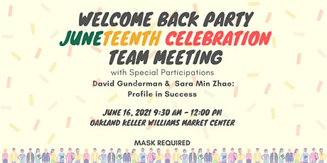 KWOBAC Welcome Back / Team Meeting / Juneteenth Celebration! tickets