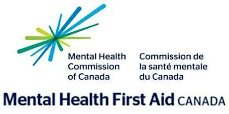 Mental Health First Aid Standard Virtual Course tickets