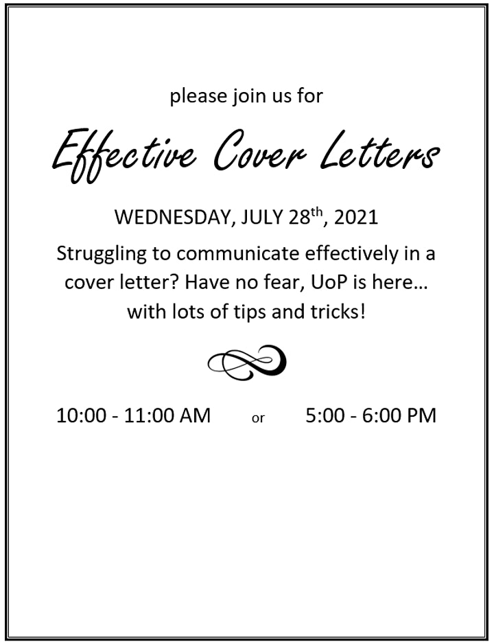 Writing an Effective Cover Letter image