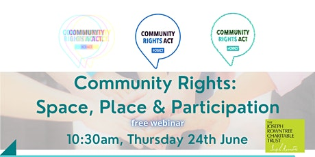 Community Rights: Space, Place & Participation tickets