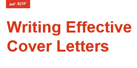 Writing an Effective Cover Letter tickets