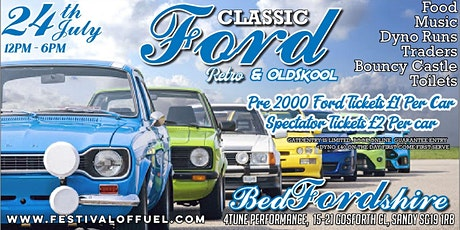 Classic Ford Meet tickets
