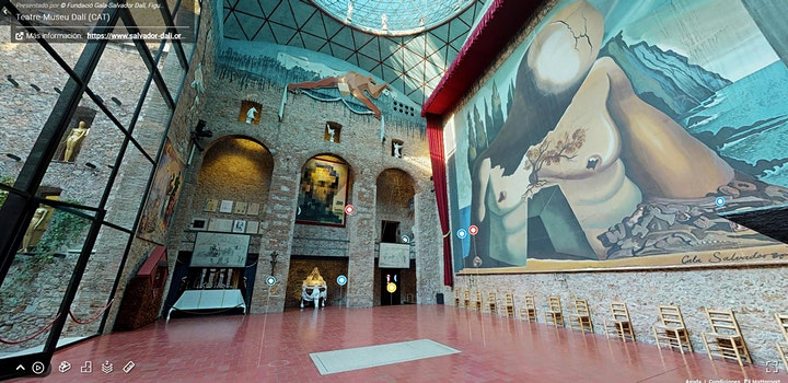 Figueres and Dalí Theater Museum. Live guided tour. image