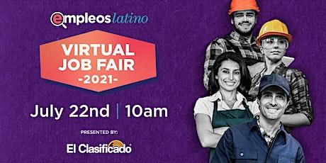 Feria de Trabajo Presentado por El Clasificado y EmpleosLatino boletos
