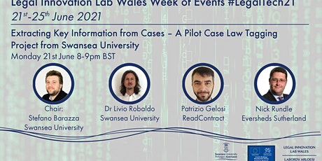 Extracting key information from cases – a pilot case law tagging project tickets