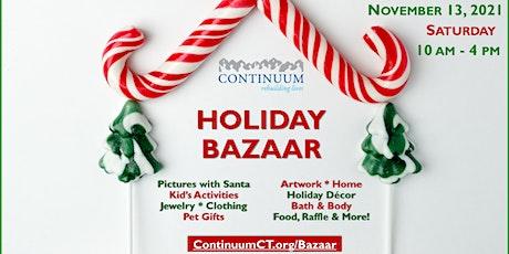 Continuum Holiday Bazaar 2021 tickets