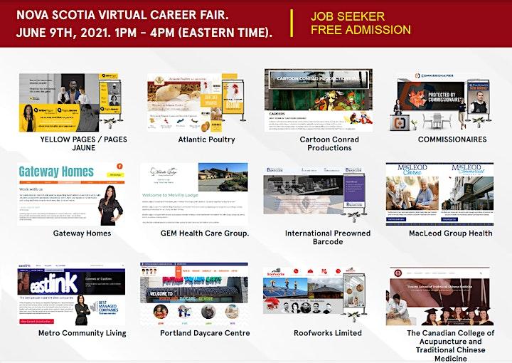 Nova Scotia Virtual Career Fair- June 9th, 2021 image