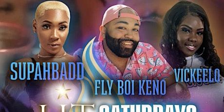 SUPAHBADD, FLY BOI KENO, & VICKEELO  LIVE tickets