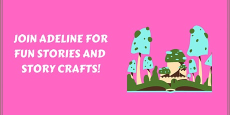Crafty Stories with Adeline tickets