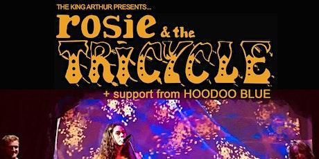 Rosie & The Tricycle + Hoodoo Blue (50% Capacity Gig) tickets