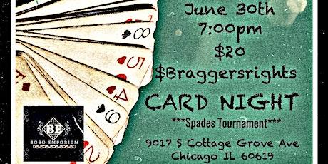 Bragger's Rights CARD NIGHT!!! tickets