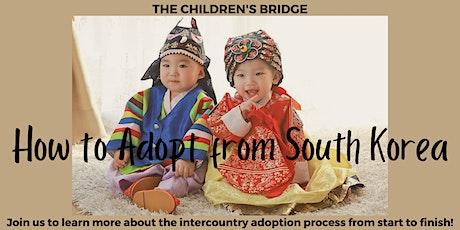 South Korea Adoption Program Information Session tickets