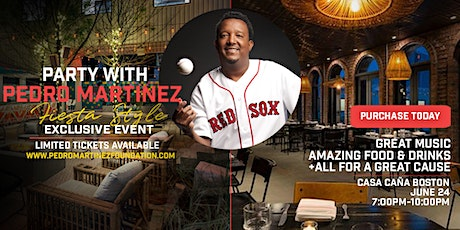 Party with Pedro at Casa Cana (Thursday, June 24 - 7pm - 10pm) tickets