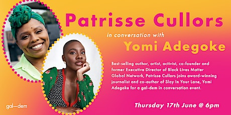 Patrisse Cullors in conversation with Yomi Adegoke tickets