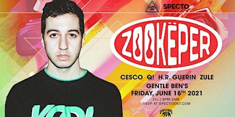 Zookeper | Gentle Ben's tickets