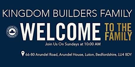 RCCG Kingdom Builders Family Luton Sunday Service tickets