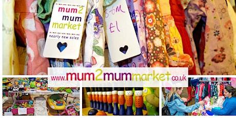 Reading's mum2mum market ~ children & baby nearly new sale tickets