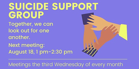 Online Suicide Support Group tickets