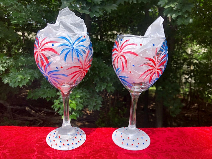 July Paint and Sip at Sail to Trail WineWorks image