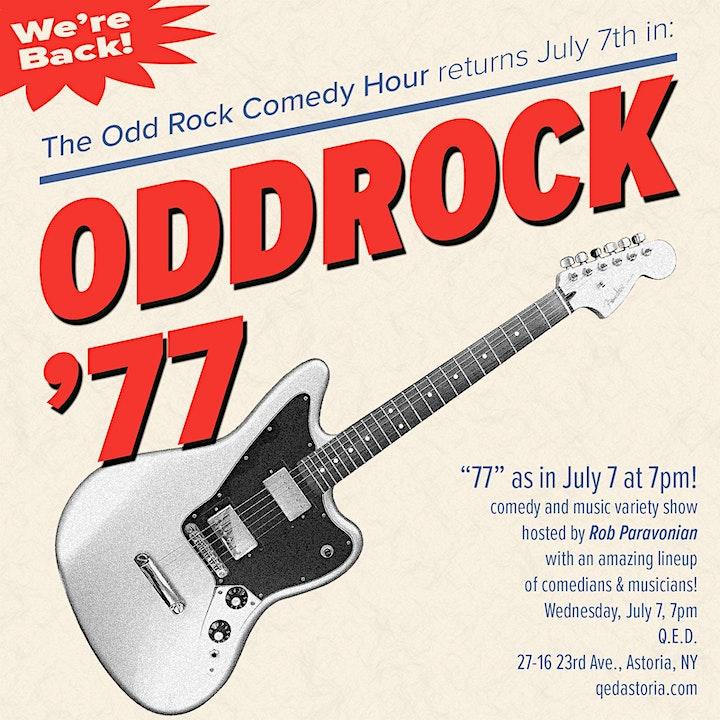 Odd Rock Comedy Hour image