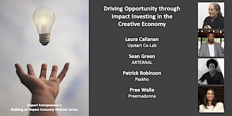 Driving Opportunity through Impact Investing in the Creative Economy tickets