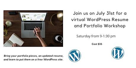 WordPress Profile and Resume Workshop tickets