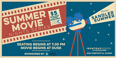 Sandler Summer Outdoor Movie Series: Mr. Deeds tickets