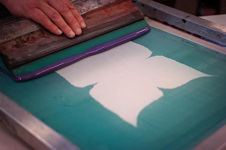 Siebdruck selber machen: Auf Papier, Stoff und Holz - Ferienwoche: Bild