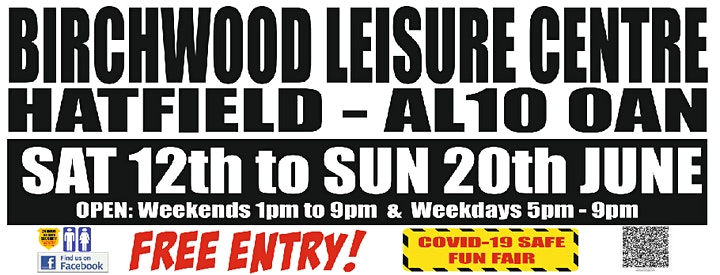Hatfield Fun Fair - Birchwood Leisure centre image