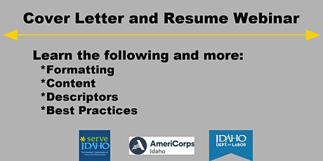 Cover Letter and Resume Training tickets