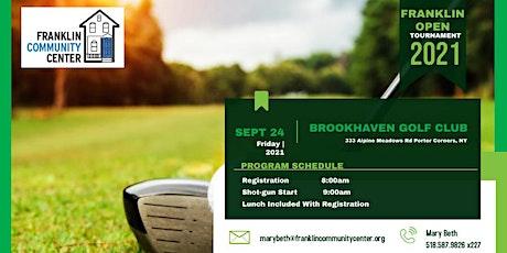 23rd Annual Franklin Open Golf Tournament tickets