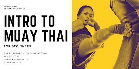 FREE Course - Muay Thai Einführungsstunde Tickets