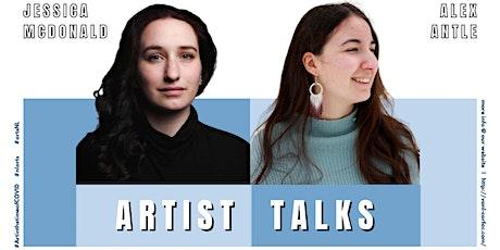 Artist Talks with Jessica McDonald and Alex Antle biglietti