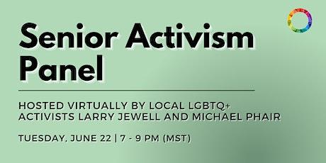Senior Activism Panel tickets